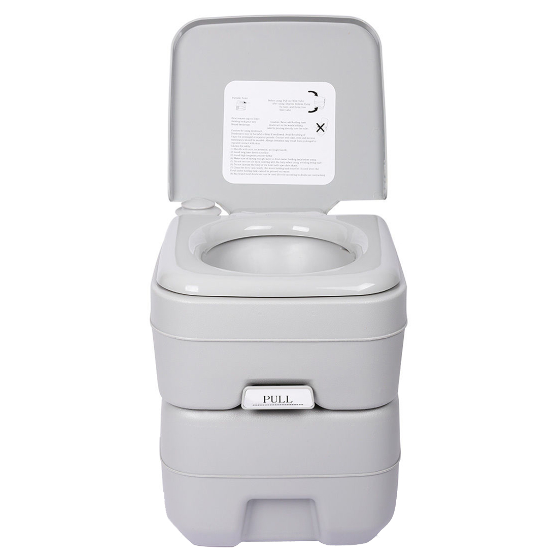 LCLL-5 Gallon 20L Portable WC Toilet Flush Camping Porta Travel Outdoor Hiking Potty brand 24l portable mobile toilet potty seat car loo caravan commode for camping hiking outdoor portable camping toilet