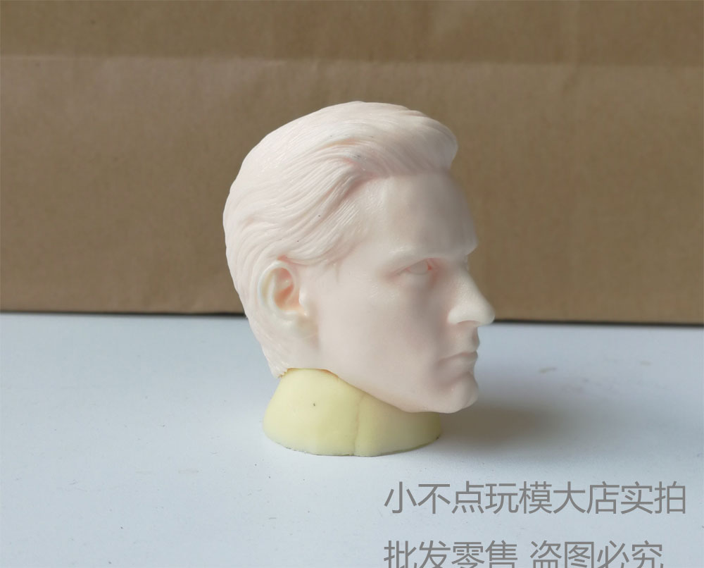 "1//6 Scale Custom Tobey Maguire  Resin Head sculpt for 12/"" figure Peter Parker"