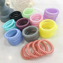 5pcs/lot New Summer Bright Colors Quality Telephone Wire Elastic Rope Bands Personality Hair Rings To Hold Hair Easily 5pcs lot ka278ra05 278ra05 to 220f new