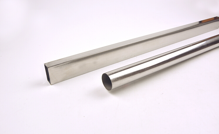 Stainless Steel Square Tube Round Tube Garment Store Shelf Accessories Furniture Frame Accessories