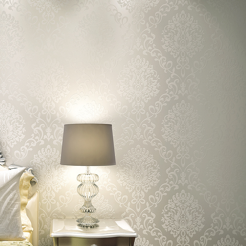 все цены на beibehang papel de parede para quarto em 3d Wall Paper Modern Pattern Paper Wallpaper Roll For living room Wall covering Decor онлайн