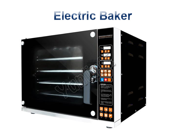 Electric Oven for Bread/Pizza 60L Timer Oven Commercial Bakery Oven Pizza/ Bread Baking Oven Bakery Machine CK02C dmwd household mini electric oven multifunctional bakery timer toaster biscuits bread cake pizza cookies baking machine 6l liter