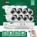 1800N HD AHD DVR Kit 8 pcs 1800TVL ANRAN 8CH 720 P À Prova D' Água ao ar livre 24 IR Day Night Video Camera CCTV Sistema de Segurança Em Casa