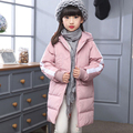 New Girls Sport Coat Children's Winter Jackets Duck Down Jackets For Girls Clothing Kids Winter Outerwear Warm Thick Long Coat