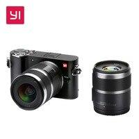 YI M1 беззеркальных цифровой Камера премьер зум два объектива ЖК дисплей минималистский международная версия сырья 20MP видео Регистраторы