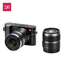 YI M1 Mirrorless Digitalkamera Prime Zoom Zwei Objektiv LCD Minimalistischen International Version RAW 20MP Video Recorder 720RGB