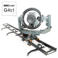 ASXMOV-G4S1 Aluminium meerassige Motion Control dolly track focus timelapse gemotoriseerde Video DSLR camera Slider W/Controller