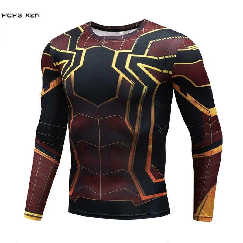 The Avengers Infinity War Spiderman iron Man Captain America Thor T-Shirts Cosplay Men Halloween Movie Costume 3D Sports T-Shirt
