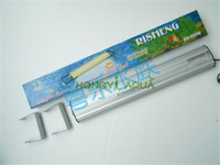 1 piece slim aluminum alloy fluorescent light fixture for aquarium marine tank lamp bracket RISHENG RS 600S