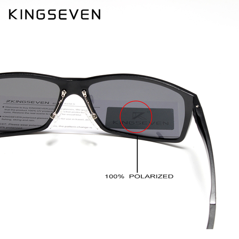 KINGSEVEN 2019 Brand Design Fashion Aluminum Magnesium Sunglasses Men Polarized Driving Eyewear For Men UV400 Oculos N7021 Multan
