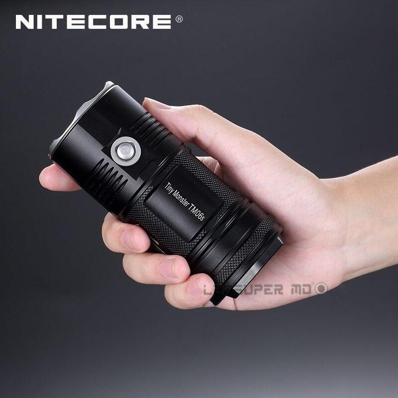 New product 2015 2016 Tiny Monster Nitecore TM06S 4000 Lumens CREE XM L2 U3 LED Searchlight Flashlight - 5