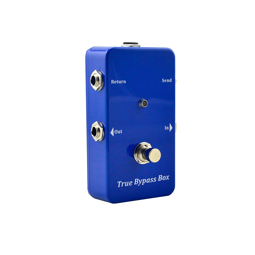 Loop True-Bypass Guitar Effect Pedal Looper Switcher  Blue Loop switch pedal Musical Instrument Part Access подсвечник loop хром медь 1281248