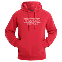 2017 The Newest Season Stranger Things Same Of Hoodie Men Women Mens Hoodies And Sweatshirts Autumn