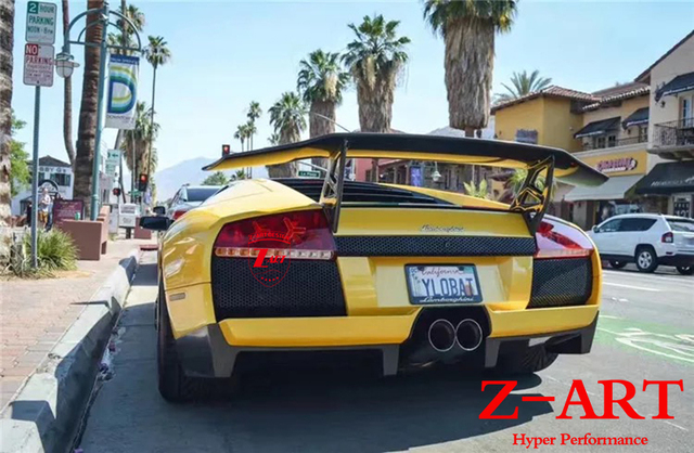 Z ART Carbon Fiber SV Rear Spoiler For Lamborghini Murcielago LP640 High  Quality Carbon Fiber