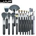 JAF 20Pcs Professional Face Makeup Brush Set Foundation Eyeshadow Eyebrow Powder Puff Blusher Lip Eyeliner Cosmetic Tool
