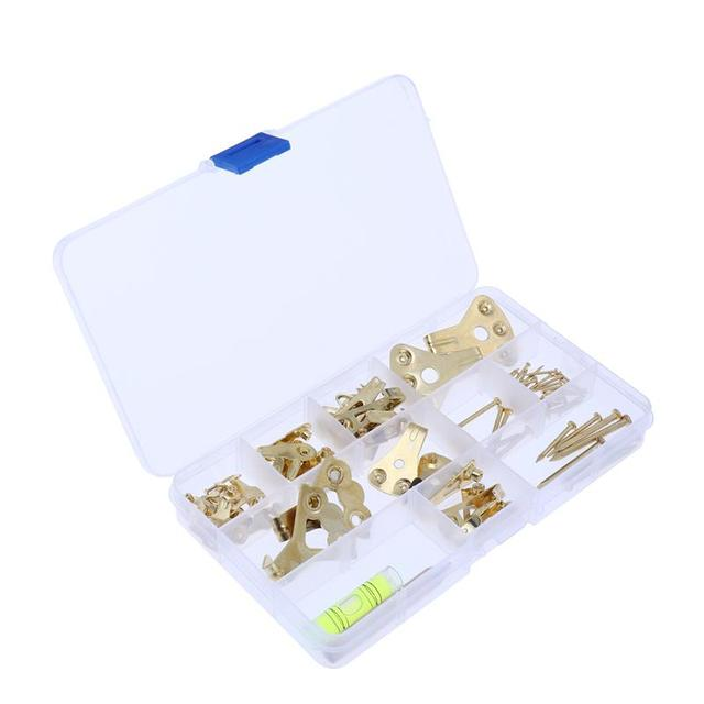 Picture Hangers Professional Golden Photo Frame Hooks Heavy Duty ...