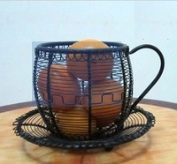 Wrought iron swing fruit basket fruit plate fruit basket fashion shelf