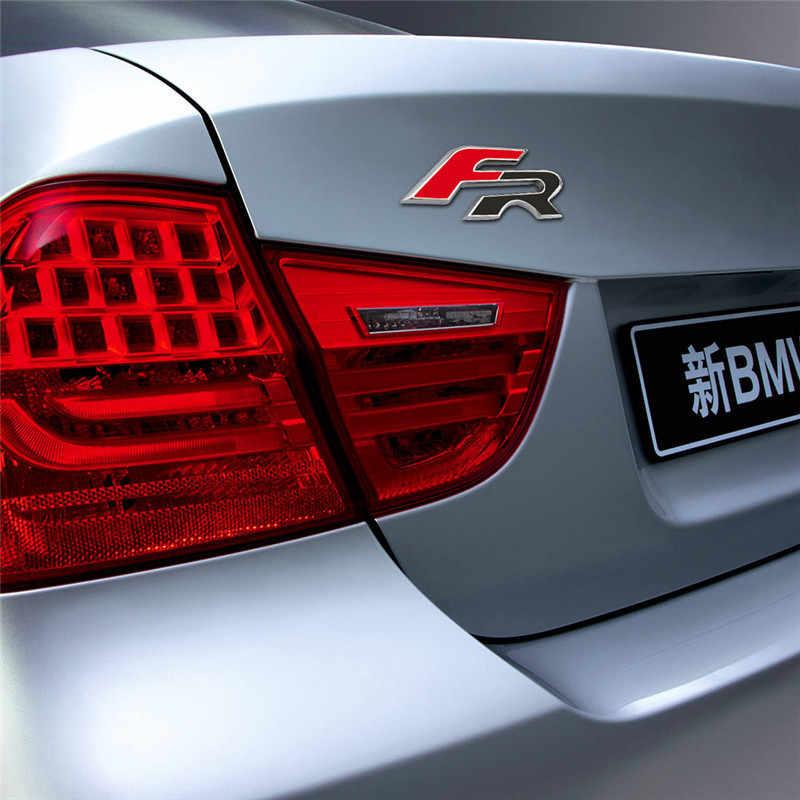 3D metalowy samochód naklejki na FR znaczek z symbolem naklejki stylizacji samochodów naklejki dla Seat leon FR Cupra Ibiza Altea Exeo Formul naklejki