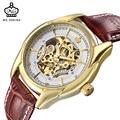 Мг. ORKINA 2019 новые дизайнерские черные золотые часы мужские часы Топ Бренд роскошные механические часы с скелетом мужские наручные часы Horloges