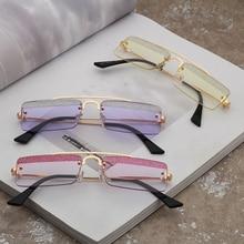 Square Sunglasses Men Women Fashion Candy Wearing Outdoor Driving Shade Eyewear Small Sun Glass 1877OLO