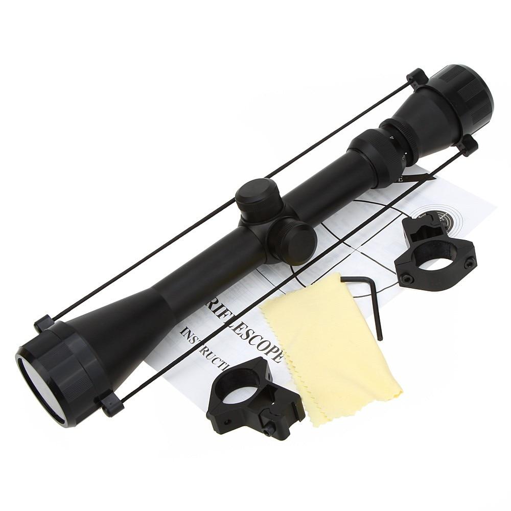 2016 משלוח חינם הכי פופולרי 3-9x40 טקטי Riflescope בחוץ reticolo מראה ציד רובה סקופ