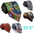 Многоцветный Печати Мужские Галстуки Галстук Шелковый Brand New Классическая Мода Свадьба Галстук для мужчин