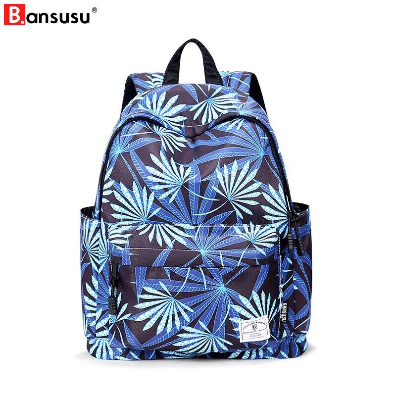 For, Students, Bag, Laptop, Leaf, Back