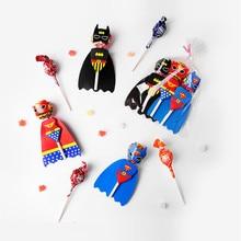 30 шт. креативные бумажные карточки для леденцов, конфеты, украшения для детей, день рождения, забавный подарок, леденец, конфеты, подарки, акс...