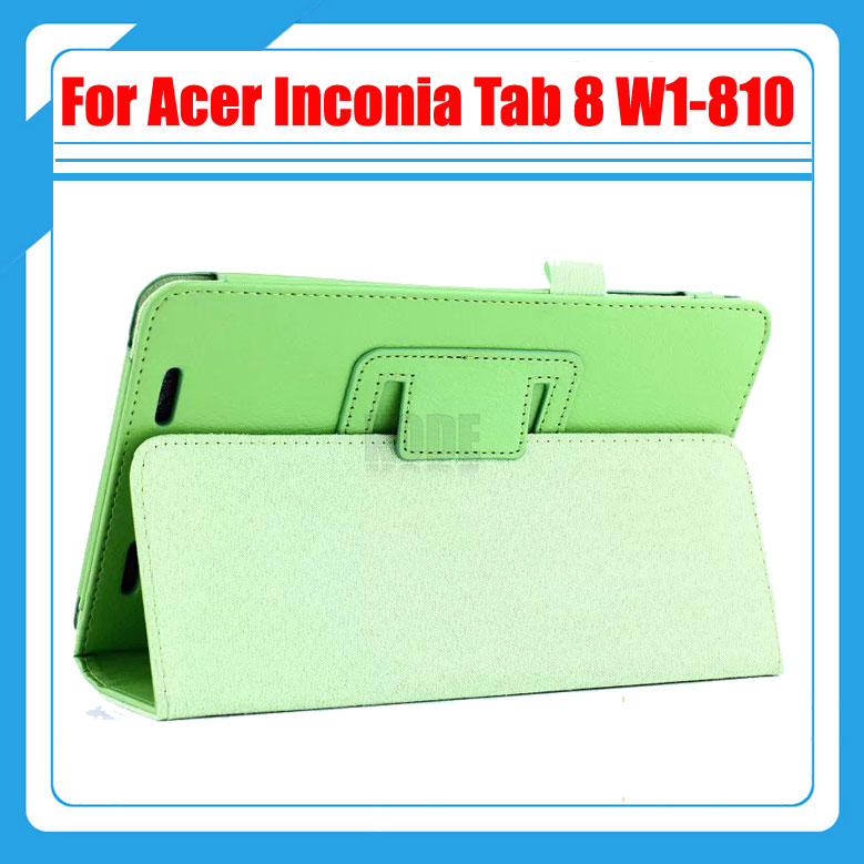 High quality ! Pu Leather Stand Tablet Cover Case For Acer Iconia Tab 8 W1 810 W1-810 + Stylus and stylish protective pu leather case for acer iconia tab a500 black
