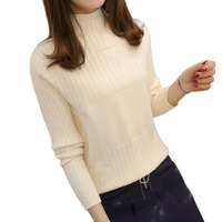 Winter Women sweaters pullovers 2018 Autumn Korean Turtleneck sweaters womens loose knitted sweater female pullover tops Femme