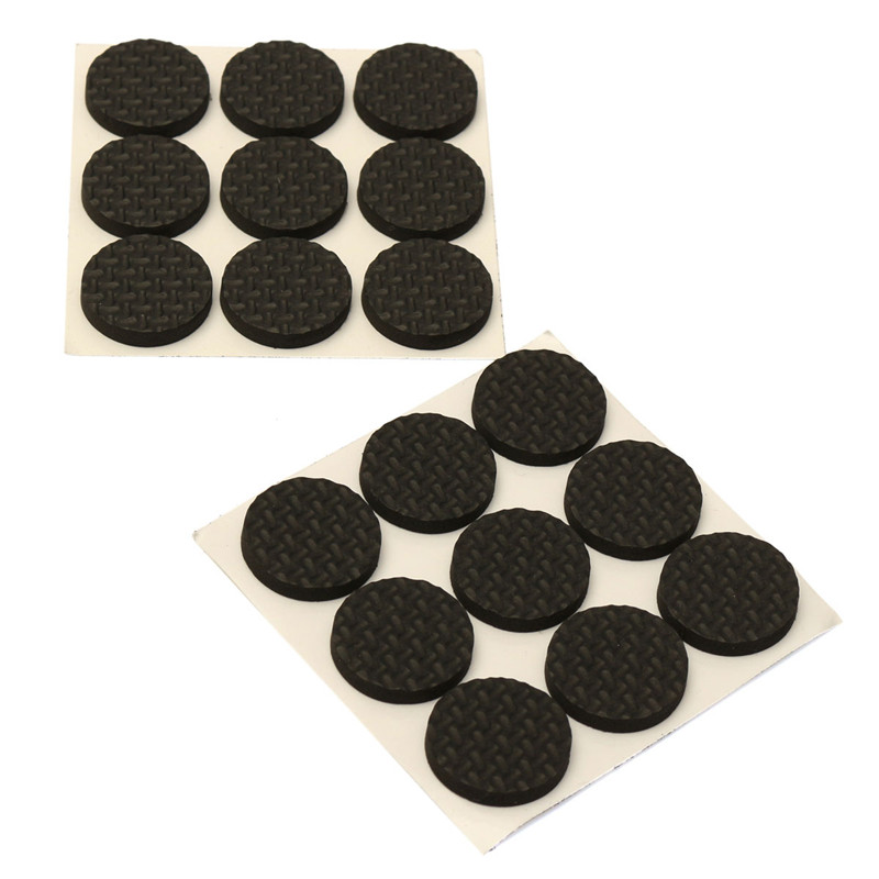 Lovely New Arrival High Quality 18X Anti Skid Rubber Furniture Floor Pads Self  Adhesive Protect Tables
