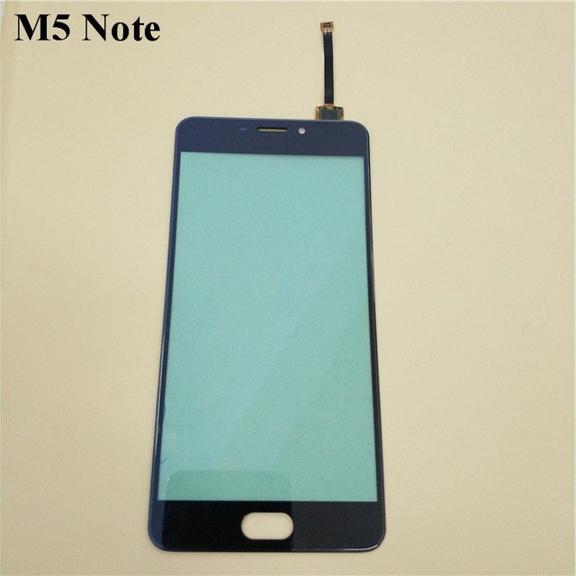For Meizu M5 Note Touch Screen Glass 100% Guarantee Original Digitizer Glass Panel Touch Replacement For Meizu M5 Note