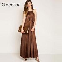 Clocolor Summer Bãi Biển Dress Nữ của Dây Đeo Spaghetti Tay Loose Casual Cà Phê Shinning Xếp Li Du Lịch Mùa Hè Bãi Biển Dress