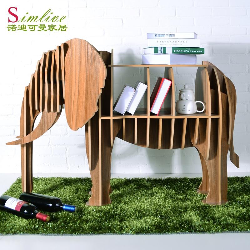 Elephant bookcase shel...