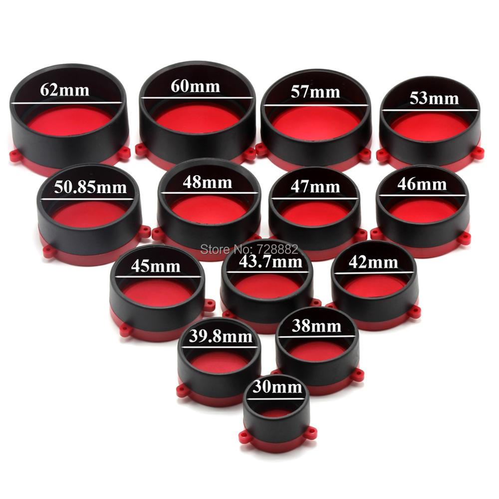 Red Quick Flip Spring Up Open Riflescope Lens Cover For Hunting Gun Caliber Rifle Scopes