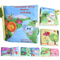 Baby Cloth Books Ratteles Learning Education Toys Reading Animal Style Baby Infant Kids Early Development Colorful Soft Book