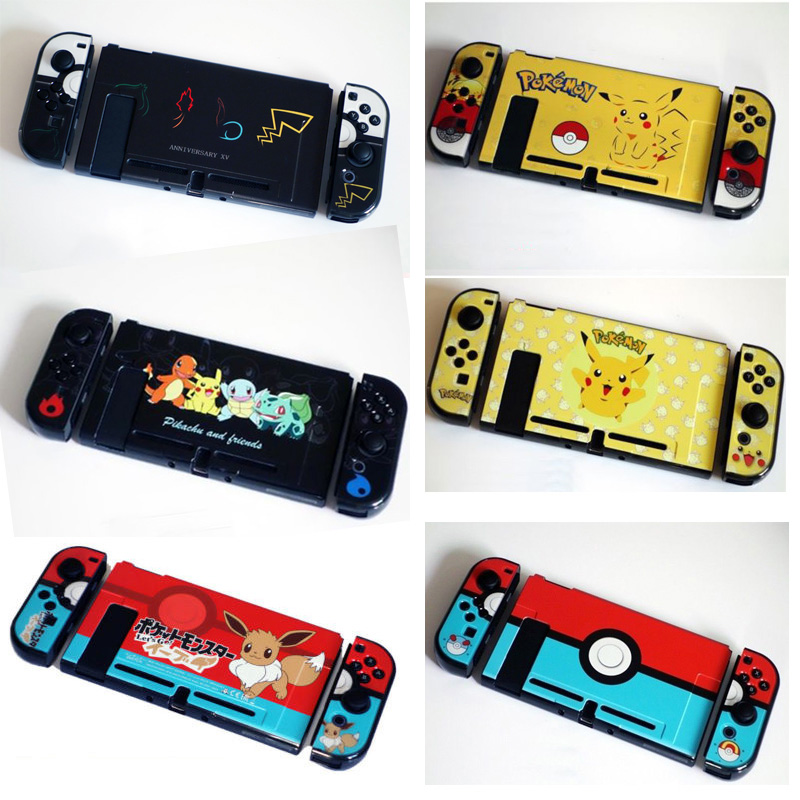 Cases Anti-fingerprint Nintend Switch Hard Thin Case Color Shell Poke Protector For Nintendoswitch Ns Console Joy-con Game Accessories Luxuriant In Design