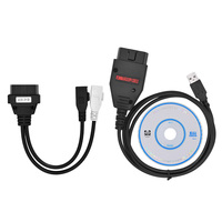 Nouveau EOBD2 Galletto 1260 ECU Chip Tuning Interface Flasher Galleto Multi Langue Flash Outil Câble