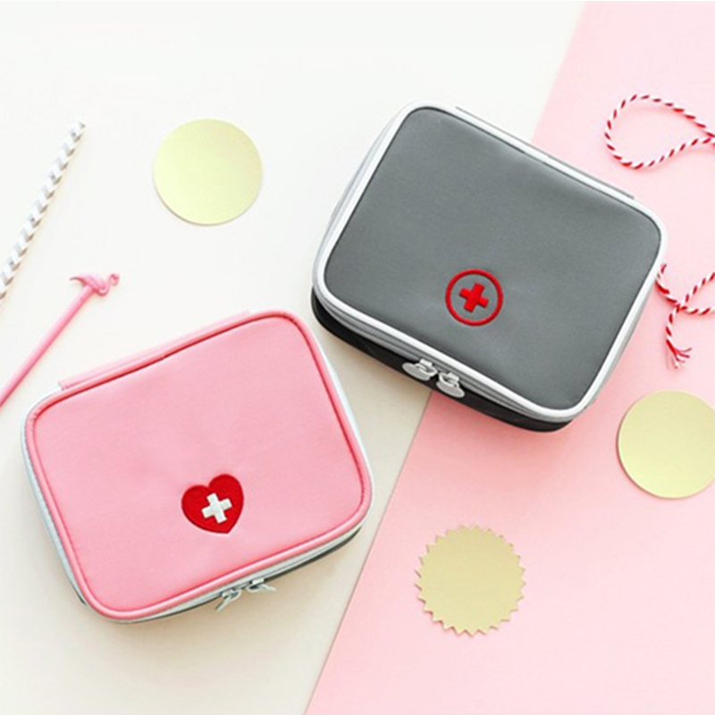 13*10*4cm Cute Mini Portable Medicine Bag First Ai...