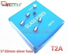 slow 100pcs/box 250V fuse