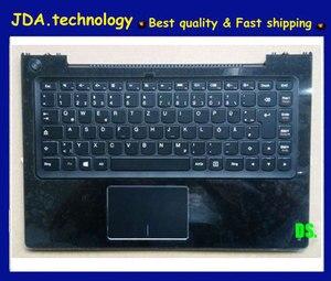 MEIARROW New/orig black upper shell For lenovo U330 U330P German keyboard plamrest topcase upper cover C cover w/touchpad