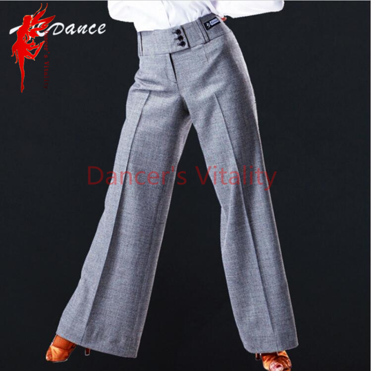 NEW Latin dance trousers Women dance costumes bottoms high waist Salsa Tango Rumba flamengo Ballroom pants hot sale