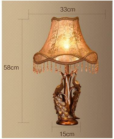 Европейский стиль лампа Европейский ретро гостиная исследование спальня тумбочка лампа lo81813