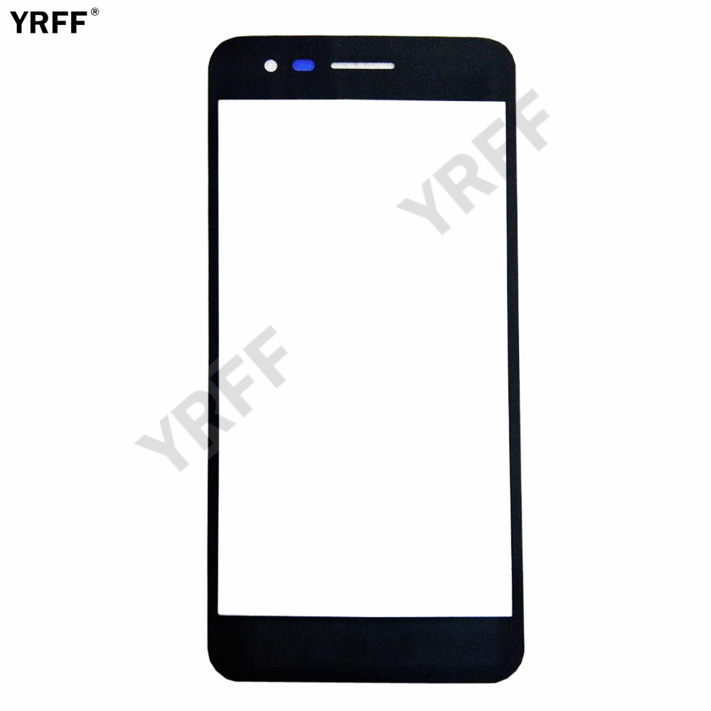YRFF Mobile Front Panel Glass For LG K4 2017 Phoenix 3 Fortune M160 X230 For LG K7 2017 Front Glass Outer Glass Replacement