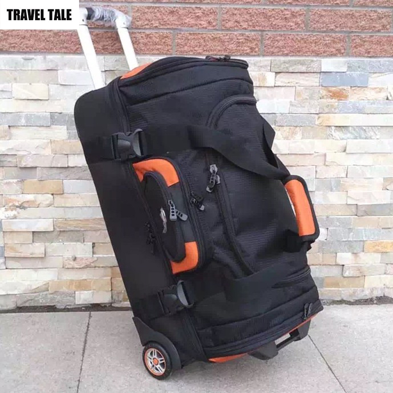 TRAVEL TALE 27 32 Inch men and women large trolley big capacity clothes travel luggage bag