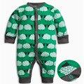2017 chegada Nova primavera outono Infantil dos desenhos animados do bebê romper macacões de bebê Crianças macacões de manga longa crianças roupas H507