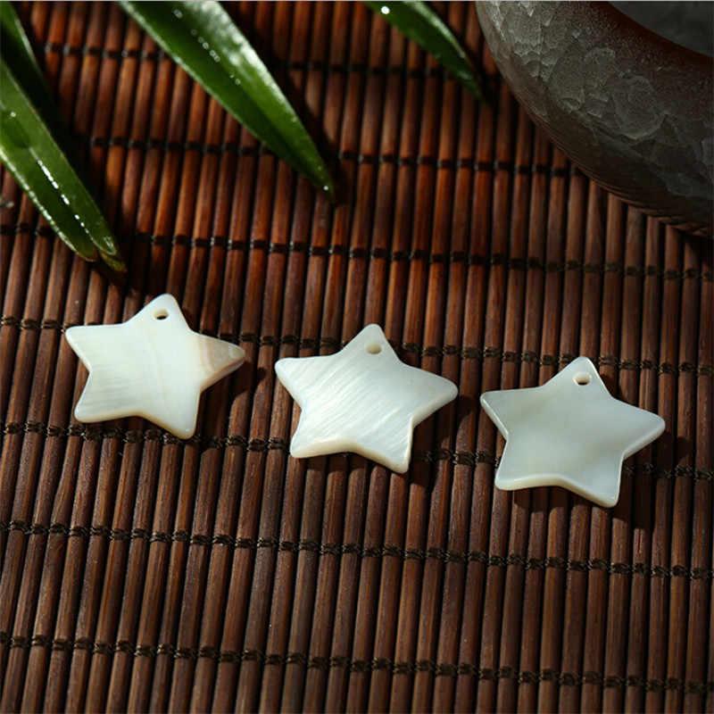 10 sztuk/partia 12mm 15mm 18mm biały naturalne słodkowodne sea muszelki koraliki do tworzenia biżuterii diy gwiazdka koraliki na kolczyki naszyjnik craft