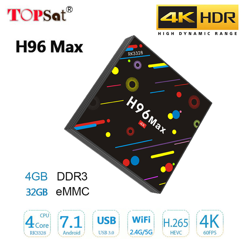 Andrid 7.1 tv box H96 max H2 RK3328 Quad-Core 64bit 4GB/32GB DDR WiFi 2.4G/5G Bluetooth media player Support Multi-language andrid 7 1 tv box h96 max h2 rk3328 quad core 64bit 4gb 32gb ddr wifi 2 4g 5g bluetooth media player support multi language