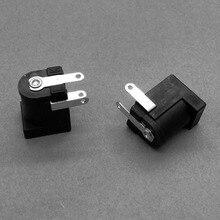 1x DC PCB 5.5*2.1mm DC jack 5.5x2.0mm buraco tomada do Carregador