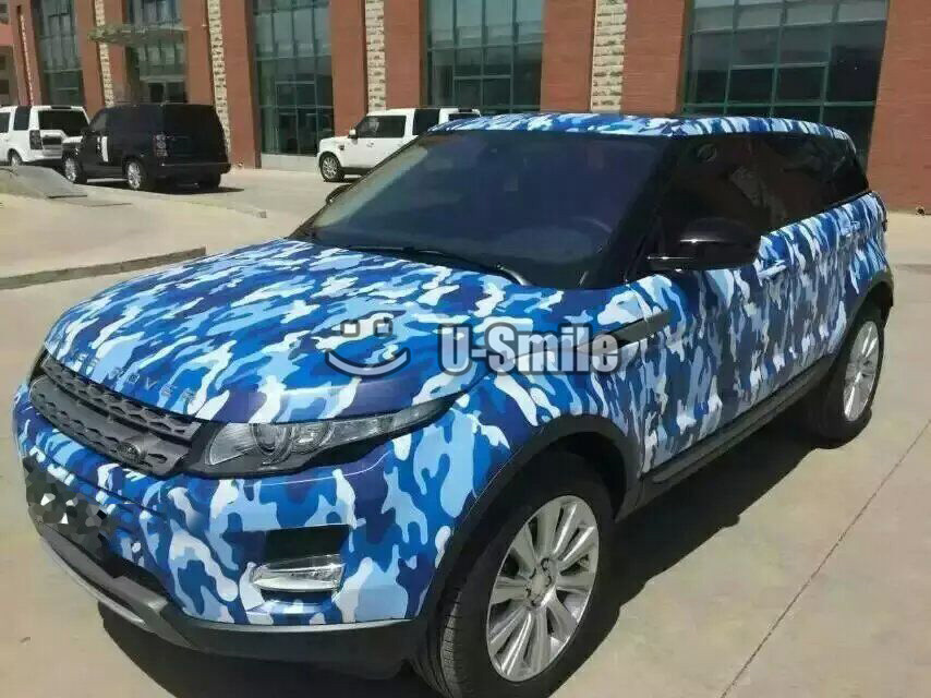 Baby Blue Camouflage Vinyl Wrap Film Blue Urban Camo Vinyl Car Film Bubble Free For Suv Truck Jeep 30m Roll Bubble Free Wrap Filmcar Film Aliexpress